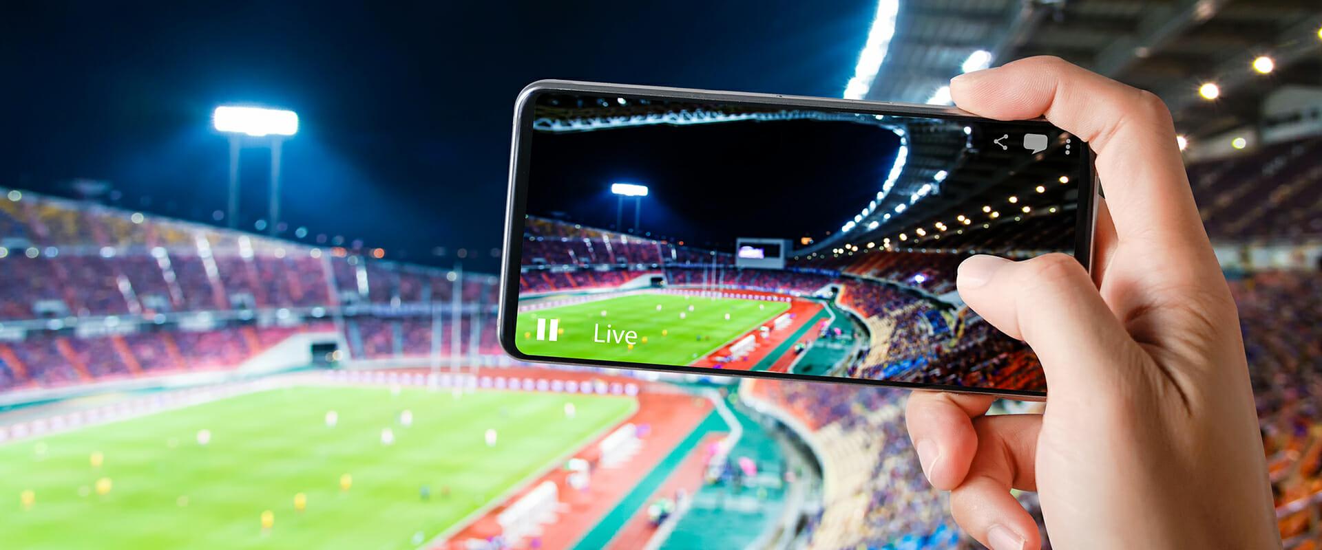 Diritti sportivi: streaming live