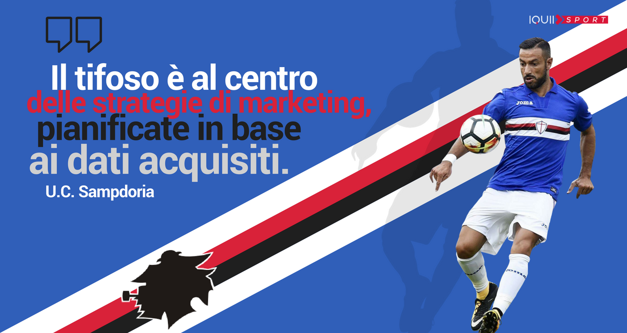 sampdoria e sport marketing 4.0