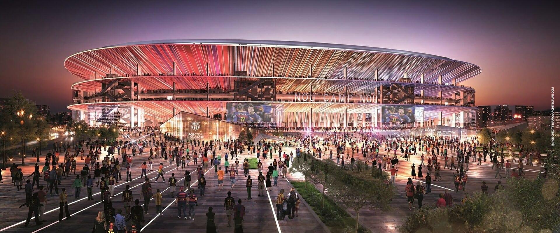 Il nuovo Camp Nou