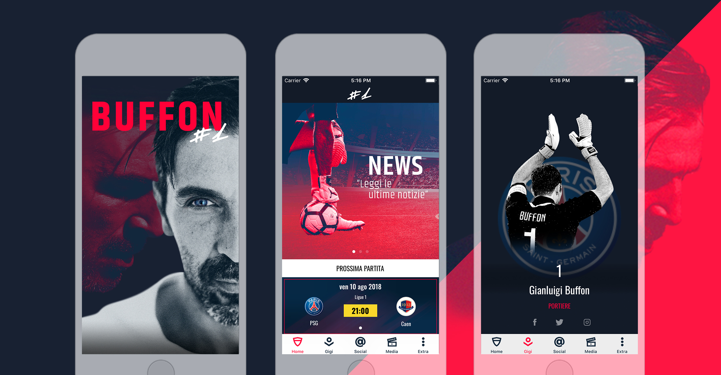 gigi buffon mobile app